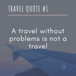 LDR and Travel Quote 1/3