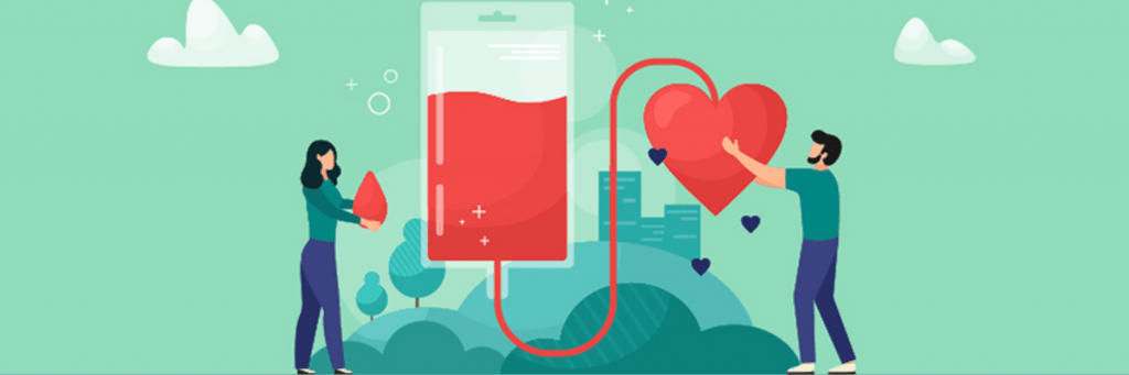 activities for long distance relationship N°101 proposes to LDR couples to make a blood donation