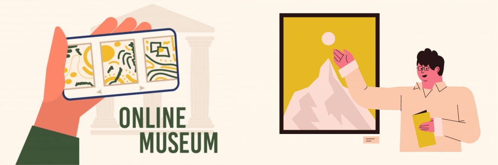 LDR couples to visit a museum online
